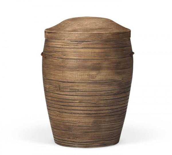 Bambusurne dunkelbraun