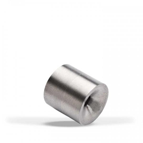Edelstahl-Medaillon, Zylinderl