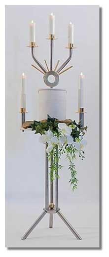 Urnenkandelaber Sederius 5-lichtig