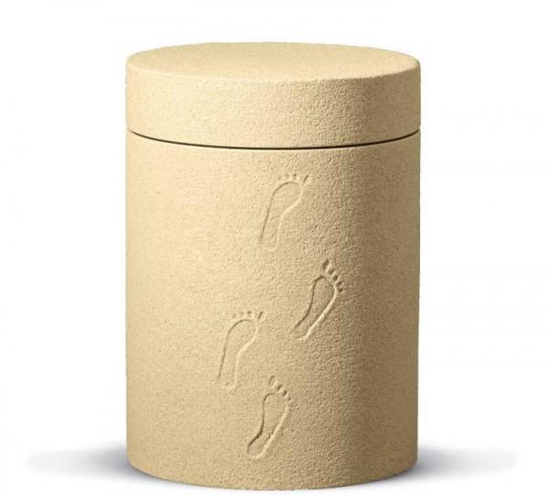 Zellulose-Urne Terrajura Fußspuren