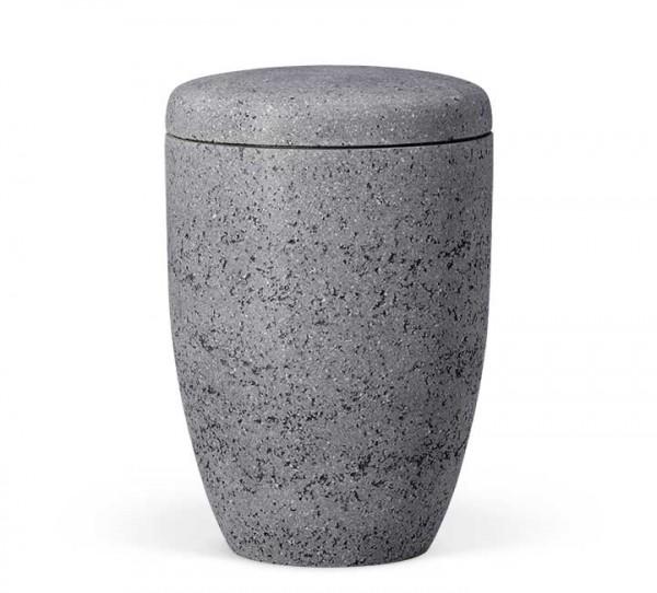 Naturstoffurne steinbeschichtet marmorit-anthrazit