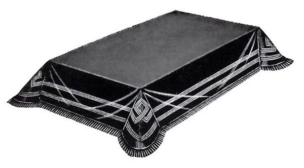 Katafalkdecke schwarz