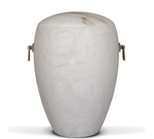 Alabasterurne weiß