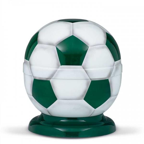 Fußball-Urne grün-weiß