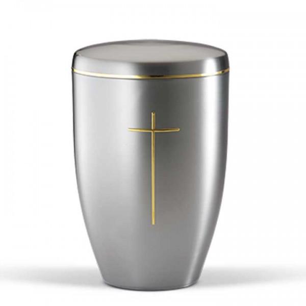 Stahlurne Ziehesta, Motiv Stripdome Kreuz