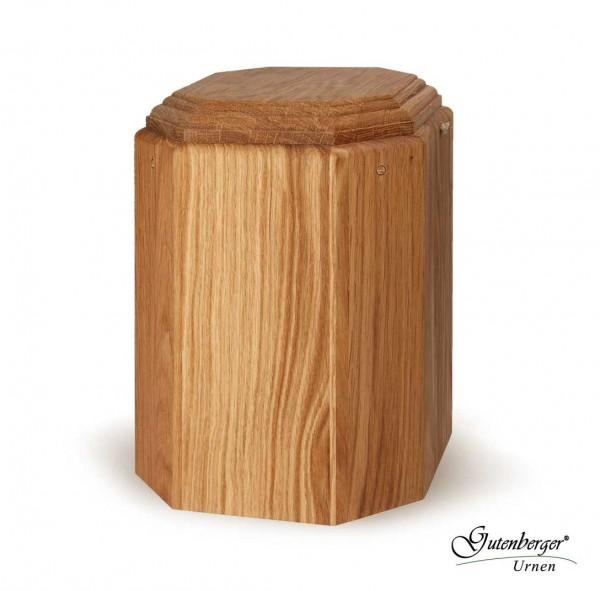 Gutenberger-Urne aus Eiche geölt