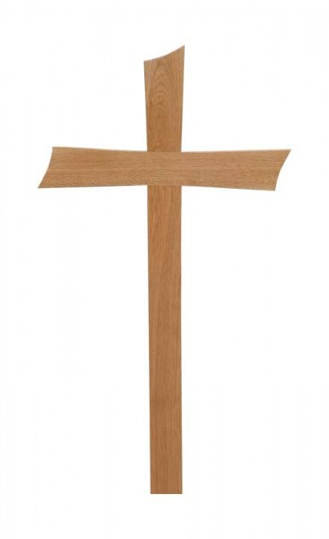 Urnengrabkreuz gerundet
