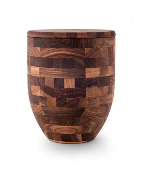 """Holzurne """"Edition Walnut"""" geölt, Vasenform"""