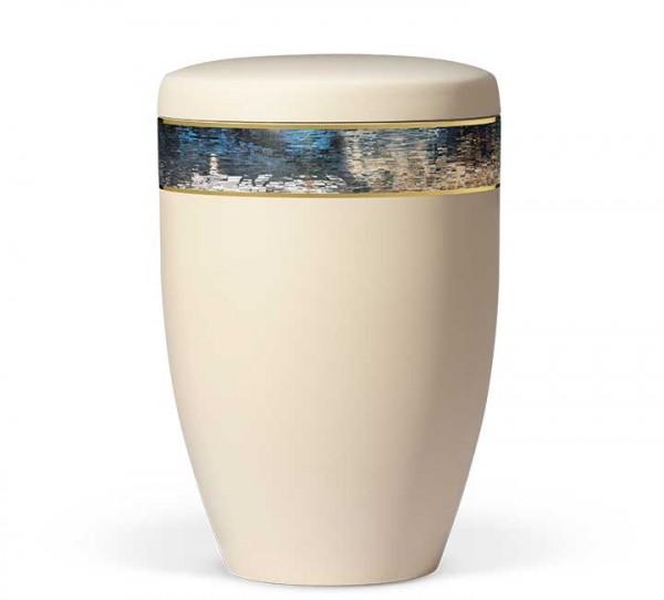 """Stahlurne elfenbein-beige """"ArtDesign"""" US6395"""