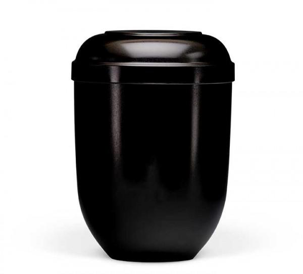 Naturstoffurne schwarz