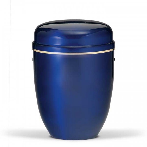 Stahurne kobalt-blau mit Goldband US820GB