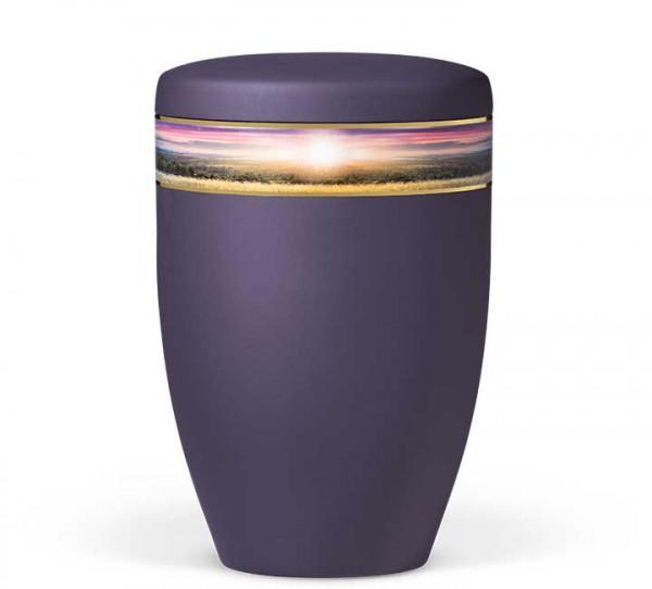 """Stahlurne violett velours """"Landschaft"""" US6365"""