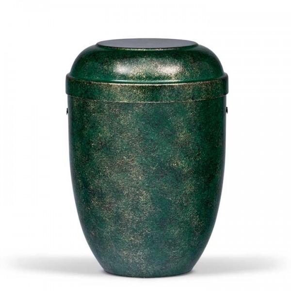 Stahlurne grün bronze patiniert US530