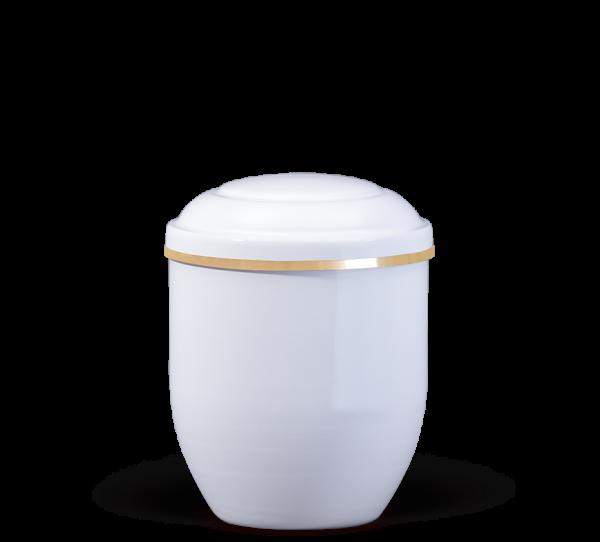 Kupferurne, Miniurne weiß (0,25 l)