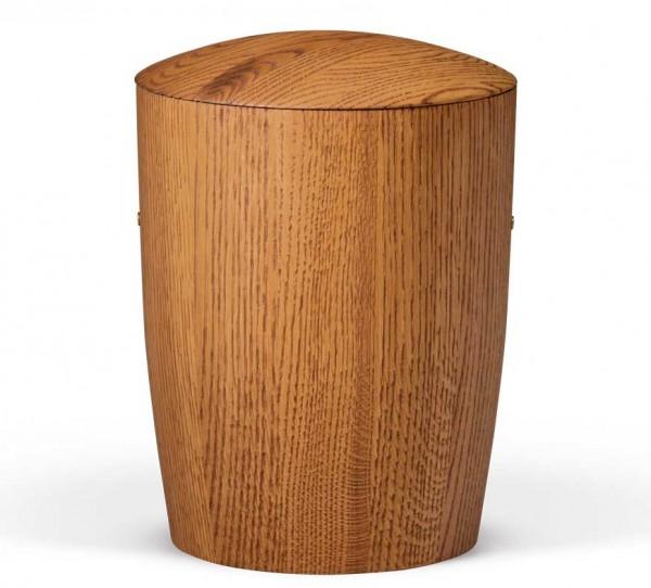 Eichenholz-Urne bernsteinfarben gebeizt US961